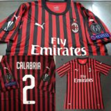 Jual Jersey AC Milan Home + Full Patch UEL + NNS 2019/2020