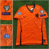 Jual Jersey Belanda Home Full Patch Euro 2020