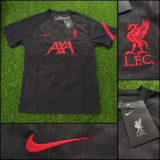 Jual Jersey Training Liverpool Hitam 20/21
