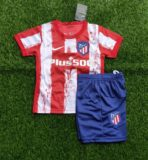 Jual Jersey GO New Atletico Madrid Home Kids 21/22